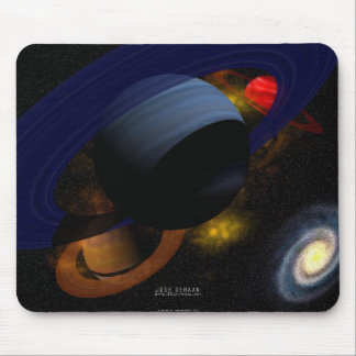 Three Ring System Mouse Pad