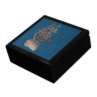 Three Rivers Petroglyph Man Image 5b Gift Box