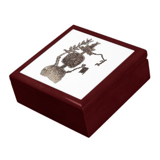 Three Rivers Petroglyph Site Man Image 5b Gift Box