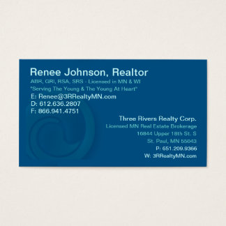Three Rivers Realty Corp. Business Card
