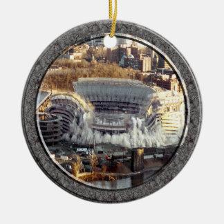 Three Rivers Stadium-Ornament-2 sided Ceramic Ornament
