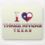 Three Rivers, Texas Mouse Pad