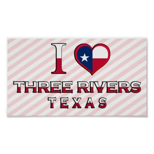 Three Rivers, Texas Posters