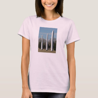 Three rocket models in show T-Shirt