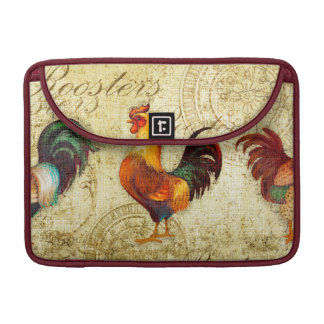 Three Roosters Sleeve For MacBook Pro