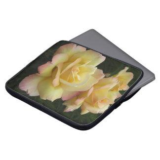 Three Roses in Bloom Laptop Sleeve