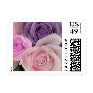 Three roses stamp