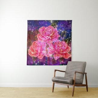 Three Roses  Wall DecorTapestry Tapestry