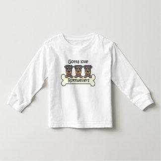 Three Rottweilers Tee Shirt