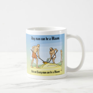 Three Ruffians Classic White Coffee Mug