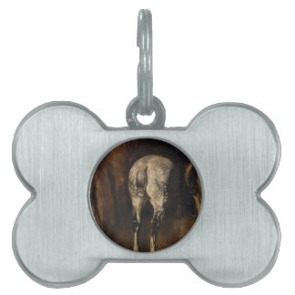 Three rumps of horses by Theodore Gericault Pet Name Tag