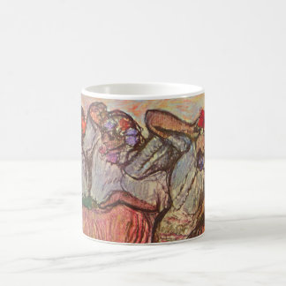 Three Russian Dancers by Edgar Degas Coffee Mug