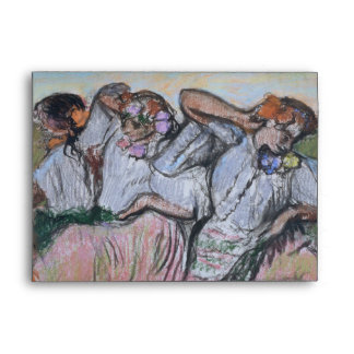 Three Russian Dancers by Edgar Degas Envelope