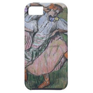 Three Russian Dancers by Edgar Degas iPhone SE/5/5s Case