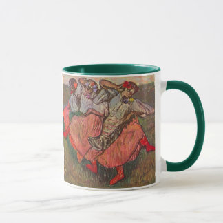 Three Russian Dancers by Edgar Degas Mug