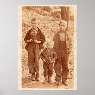 Three Sad Boys Poster