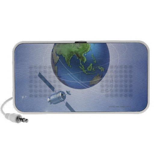 Three Satellites PC Speakers