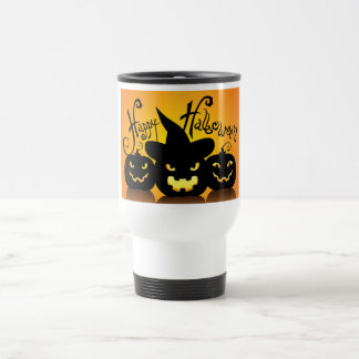 Three Scary Jack o' Lanterns Coffee Mugs