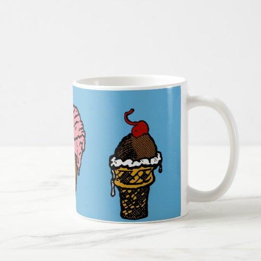"""Three Scoops"" Mug"