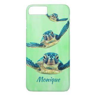 Three Sea Turtles Swimming iPhone 8 Plus/7 Plus Case