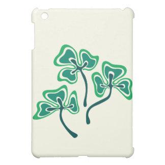 Three Shamrocks iPad Mini Cover
