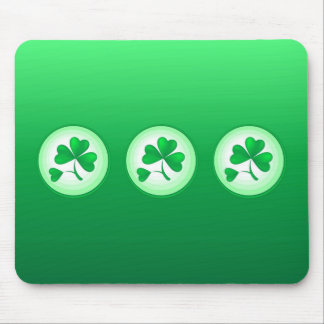 Three Shamrocks Mouse Pad