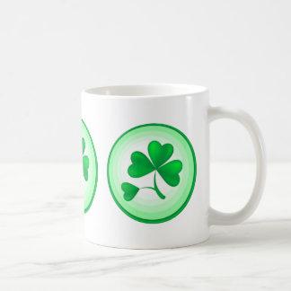 Three Shamrocks Coffee Mugs