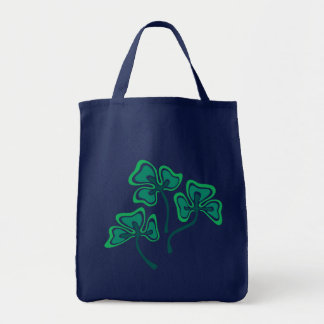Three Shamrocks Tote Bag