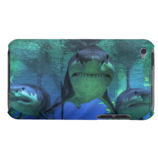 Three Sharks iPod Touch Case-Mate Case