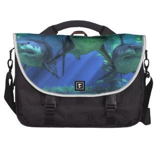 Three Sharks Commuter Bag