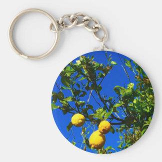 Three Sicilian Lemons Keychain