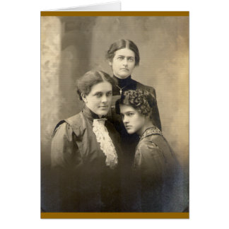 Three Sisters Card