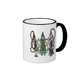 Three Sisters - Celtic witches Mugs