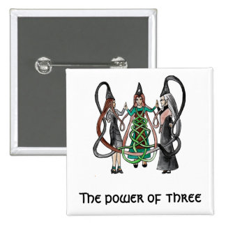 Three Sisters - Celtic witches Pins