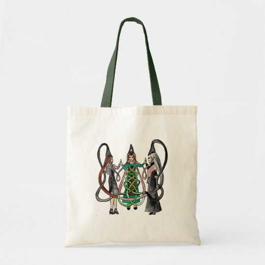 Three Sisters - Celtic witches Tote Bag