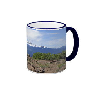 Three Sisters from Black Butte Ringer Coffee Mug