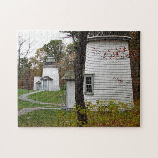 Three sisters lighthouses jigsaw puzzle