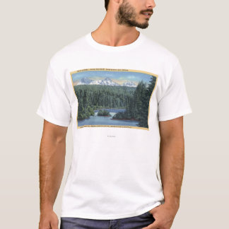 Three Sisters Mountains Near Bend, OR from Scott T-Shirt