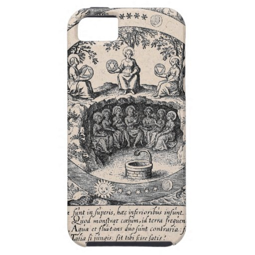 Three Sisters of Alchemy iPhone 5/5S Case