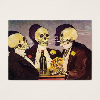 Three Skeletons Business Card