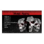 Three Skulls Business Card Templates