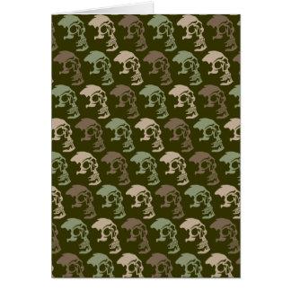 Three Skulls Go Commando Card