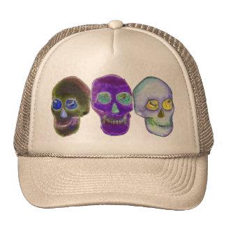 Three Skulls Trucker Hat