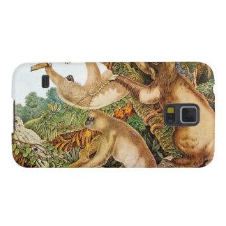 Three Sloths Vintage Illustration Cases For Galaxy S5