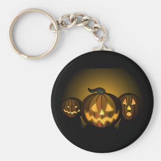 Three small pumpkins… - keychain