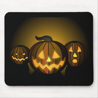Three small pumpkins… - mouse pads