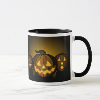 Three small pumpkins… - mug