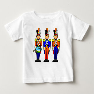 Three Smart Toy Soldiers on Parade Baby T-Shirt
