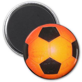Three Soccer Balls Magnet