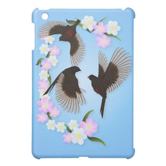Three Sparrows  iPad Mini Cases
